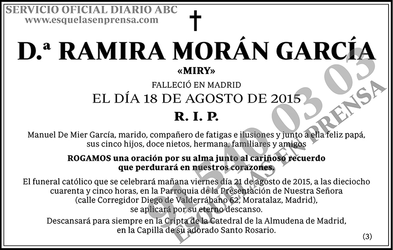 Ramira Morán García